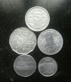 Coins of India Rs. Antique Coins, Old Coins, Rare Coins, Coin Buyers, Colonial India, Geography Map, Coins Worth Money, Rs 5, India Facts