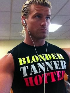 Any day I get to see Dolph wrestle is a good day. <3