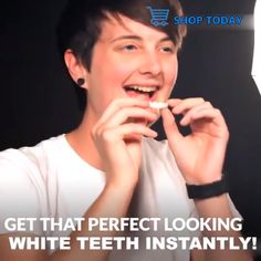 Perfect Smile Snap-On Braces - White teeth - Perfect Teeth, Perfect Smile, Teeth Braces, Stained Teeth, Natural Teeth Whitening, Whitening Kit, White Teeth, Oral Hygiene, Dentistry