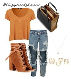 Untitled #383 by tinyybeautylicious on Polyvore featuring polyvore, fashion, style, One Teaspoon, Gianvito Rossi, Marni, LC Lauren Conrad and clothing