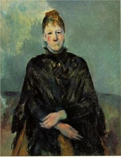 Portrait of Madame Cezanne - Paul Cezanne