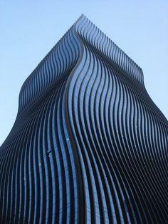 Wavy skyscraper - Seoul