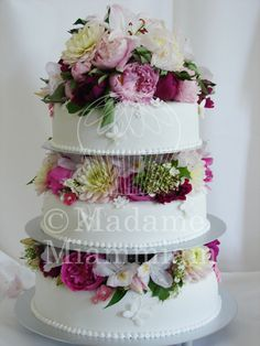 brilliant wedding cake