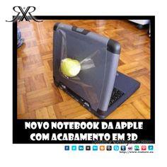 Bom dia para todos os nossos seguidores! Quem ja viu a nova versão de notebook da Apple em 3D? Criativo e muito mais barato do que o convencional he he Alegria que hoje é quinta feira e o fim de semana ja esta quase quase a chegar <3 http://www.rostore.eu/pt