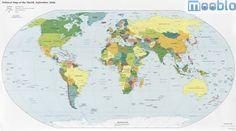 Mapa-Mundi Atual de 2008