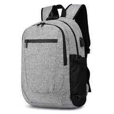 "Universe of goods - Buy ""USB Charge Anti Theft Backpack Men Laptop Backpacks Fashion Travel School Bags Bagpack sac a dos mochila"" for only USD. Cheap Backpacks, School Backpacks, Men's Backpack, Fashion Backpack, Anti Theft Backpack, Computer Bags, School Bags, Luggage Bags, Cool Things To Buy"