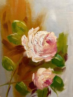 Roses original oil painting - still life flowers canvas limited edition wall decor botanical Oil Painting Tips, Oil Painting For Beginners, Oil Painting Texture, Oil Painting Flowers, Oil Painting Abstract, John Singer Sargent, Still Life Flowers, Farm Art, Painting Still Life