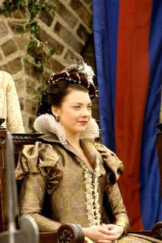 Natalie Dormer - perfect as Anne Boleyn