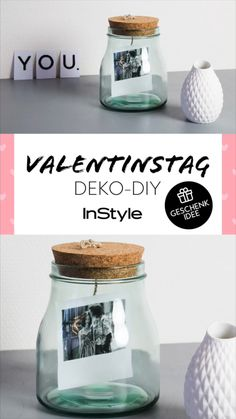 Valentine& Day: Great DIY deco gifts about which everyone f .- Valentinstag: Tolle DIY Deko Geschenke über die sich jeder freut ❤️ The right gift for him for Valentine& Day is a challenge. We have DIY decoration gifts that he is looking forward to. Diy Tumblr, Diy Gifts Videos, Diy Videos, Valentines Bricolage, Valentines Diy, Diy Gifts For Christmas, Diy Para A Casa, Diy Room Decor Videos, Room Decor For Teen Girls