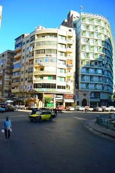 Missing the uneven colorful buildings of Alexandria, Egypt... It makes long car rides being stuck in traffic bearable!