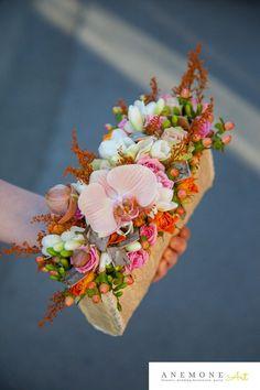 Poza, foto cu Flori de nunta orhidee, phalaenopsis, piersica, poseta in Arad, Timisoara, Oradea (wedding flowers, bouquets) nunta Arad, Timisoara, Oradea