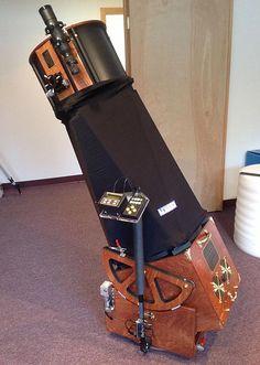 "My cousin's telescope company. ""Teeter's Telescopes Workshop"""