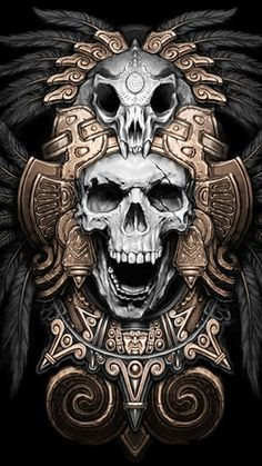 Discover thousands of images about Aztec calendar tattoo, tribal tattoo, juno tattoo designs Kunst Tattoos, Bild Tattoos, Chicano Art Tattoos, Chicano Drawings, Irezumi Tattoos, Los Muertos Tattoo, Aztecas Art, Aztec Tattoo Designs, Totenkopf Tattoos
