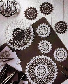 Tina's handicraft : 6 designs & patterns for doilies