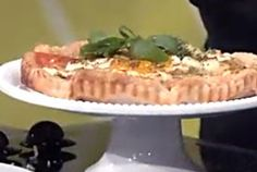Savory Goat Cheese and Heirloom Tomato Tart with Tapenade Niçoise | PCC Natural Markets