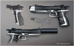 Rand's Signature Pistol