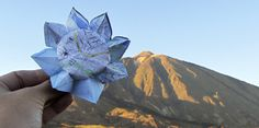 Sunflower in the Teide. Tenerife, Origami, Girly, Projects, Creativity, Women's, Log Projects, Blue Prints, Girly Girl