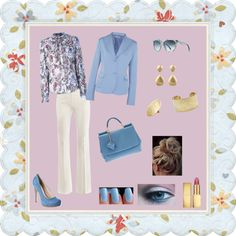 """""""Spring! :-)"""" by lady-grimilde ❤ liked on Polyvore"""