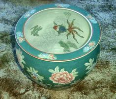 Chinese-Pottery-12-Jardiniere-Flower-Pot-Planter-Fish-Bowl