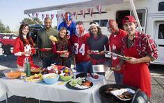Tips For a Terrific Tailgate Party « Event News Football Tailgate, Football Food, Tailgating, Tailgate Food, Orlando, New Hyundai, Hyundai News, Taco Bar, Ford News