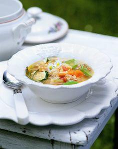 Zeleninová polévka s červenou čočkou, Foto: BioAbecedář Hanky Zemanové