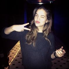 @Edition Populaire Hotels; Model @realbarbarapalvin. Gorgeous. #LondonEDITION #LFW