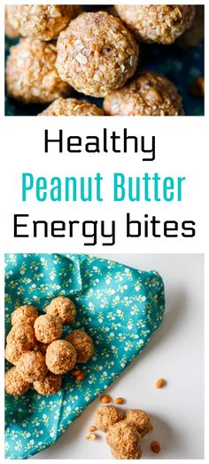 Mouthfuls of sweet energy bites , filled with good things to give a boost of natural energy and health. And of course, gluten-free! It's the ideal non-guilt snack! Get the recipes here : http://www.nobletandem.com/healthy-peanut-butter-energy-bites/