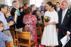 kunghaset.se:  Swedish National Day, June 6, 2015-Crown Princess Victoria and Prince Daniel attended a citizenship ceremony