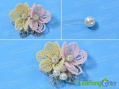 Seed Bead Jewelry, Seed Beads, Beaded Jewelry, Beaded Bracelets, Jewellery, Plastic Bead Crafts, Plastic Beads, Seed Bead Flowers, Beaded Flowers