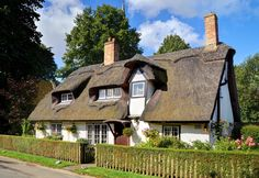 English Cottage Dreams! — (via English country cottage, Houghton by Baz...