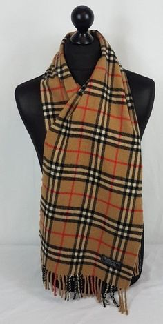 0bc1a003d9fb4 Light weight scarf made of See Wikipedia for full history. This Burberry  scarf is in an excellent condition no holes no tears