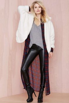 Always On Shearling Jacket   Shop What's New at Nasty Gal