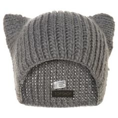 Cat Ear Beanie Hat - Hats - Winter Accessories   - Topshop