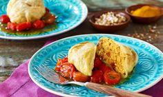 Spitzkohlköpfchen mit Curry-Couscous Rezept   Dr. Oetker