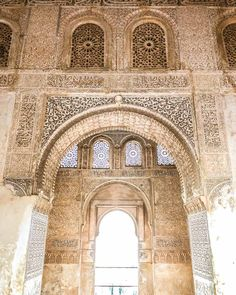 alhambra details spain andalucia - Tour of Andalucia Spain: 6 Must Visit Cities in Andalucia Spain. It's full of rolling mountains, valleys, beautiful coastline, and national parks. It's a must visit if you head toSpain! This post will share how to have the perfect tour of Andalucia at your own pace. It's full of historic cities, charming villages, and beautiful nature. I spent almost a month visiting this region - #andalucia #spaintravel