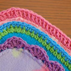 Quick and Easy Crocheted Blanket Edging Patterns; Cutesy custom baby gifts :)