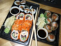 How do they do that?    http://www.sushi-selber-machen.org