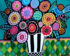 Image result for modern folk art paintings