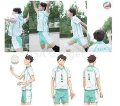 Haikyuu!! Oikawa Tooru Aoba Johsai High School Sports Suit