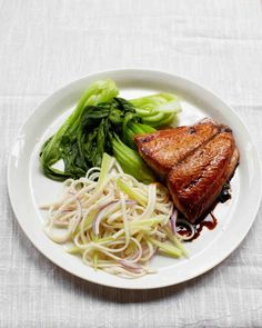 Soy-Sesame Salmon Recipe. Follow @MS_Living on Pinterest for more exclusive recipes and inspiration from the editors of Martha Stewart Living.