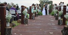 Customize this beautiful Arkansas Outdoor Wedding Venue with your own style. Perfect for Sunset Weddings.