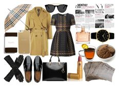 """""""5. Tea o'clock"""" by meliki ❤ liked on Polyvore featuring FitFlop, Karl Lagerfeld, Topshop, Kate Spade, Smoke & Mirrors, C.R.A.F.T., BCBGMAXAZRIA, P.A.R.O.S.H., Wilsons Leather and Burberry"""