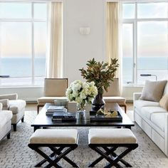Master Suite Sitting Room: Architectural Digest