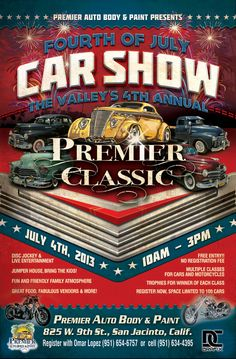 4th of July Premier Classic Car Show