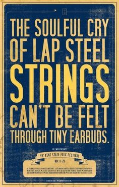 strings & tiny earbuds. great type by gena