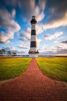 Coastal North Carolina Bodie Island Lighthouse Cape Hatteras National Seashore Obx Nc by Dave Allen - Photography, Landscape photography, Photography tips Coastal North Carolina, Outer Banks North Carolina, Outer Banks Nc, Bodie Island Lighthouse, Lighthouse Photos, Thing 1, Amazing Adventures, Vacation Destinations, Beautiful Landscapes