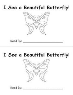 Life Cycle of a Butterfly FREEBIE Emergent Reader