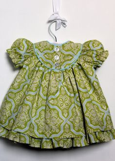 Vintage Baby dress...sewing one for my granddaughter someday
