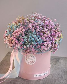 Boquette Flowers, Luxury Flowers, Bunch Of Flowers, Flowers Nature, Dried Flowers, Beautiful Flowers, Balloon Flowers, Flower Box Gift, Flower Boxes