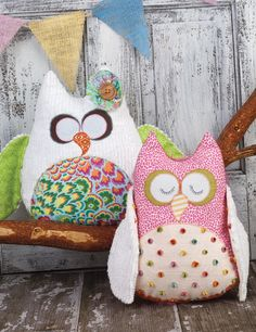 Love these owls from Sew Beautiful Magazine.